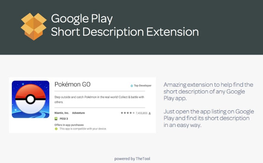 ASO - Google Play Short Description Viewer